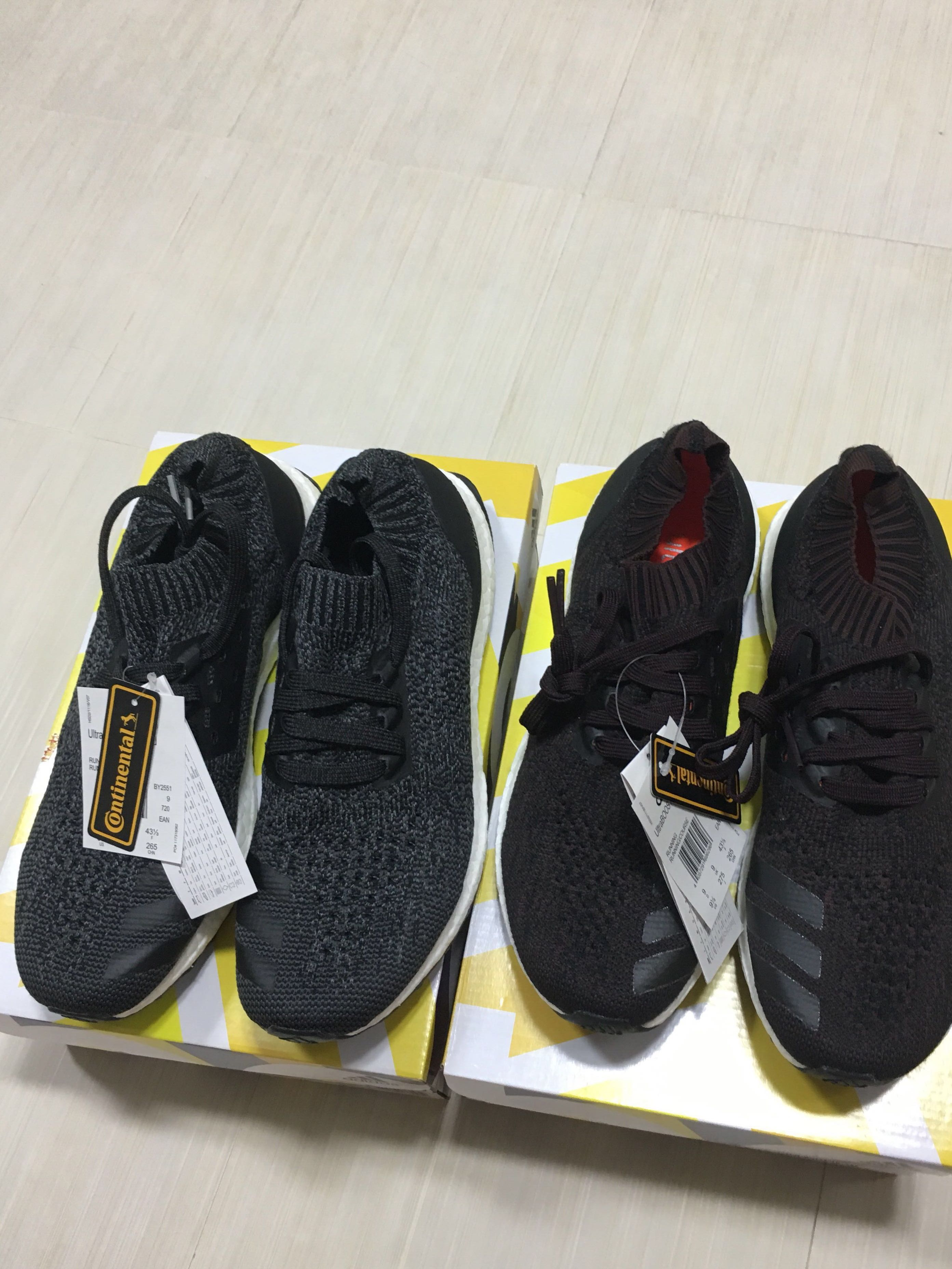 9d126ac25 Adidas Ultraboost Uncaged US9.5 Black