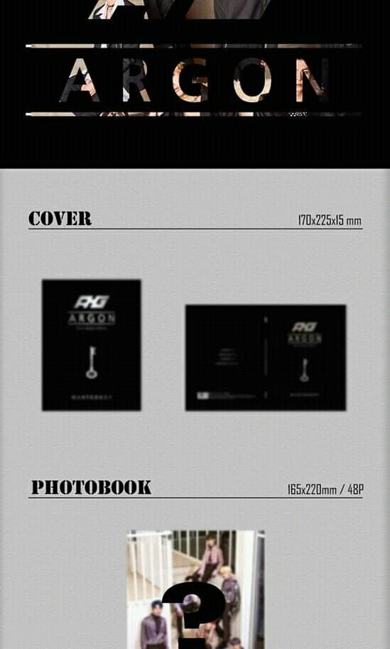 ARGON - MASTER KEY - PREORDER/NORMAL ORDER/GROUP ORDER/GO + FREE GIFT BIAS PHOTOCARDS (1 ALBUM GET 1 SET PC, 1 SET HAS 9 PC)