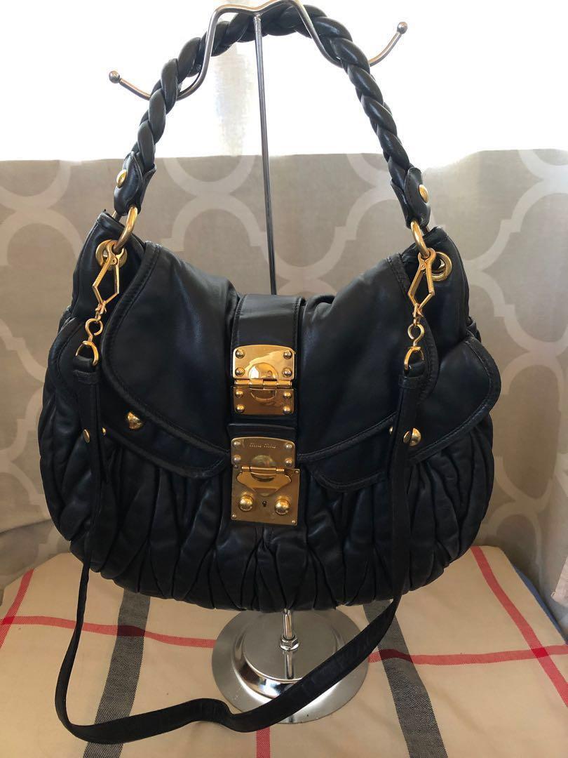 Authentic Miu Miu 2 way bag 9dde060cd9088
