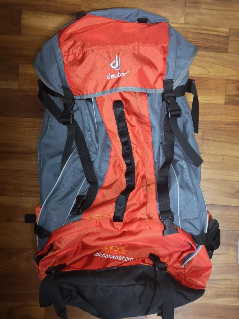 detailed look 4977d 8d27f Backpack! Deuter Aircontact. Good for hiking and backpacking ...