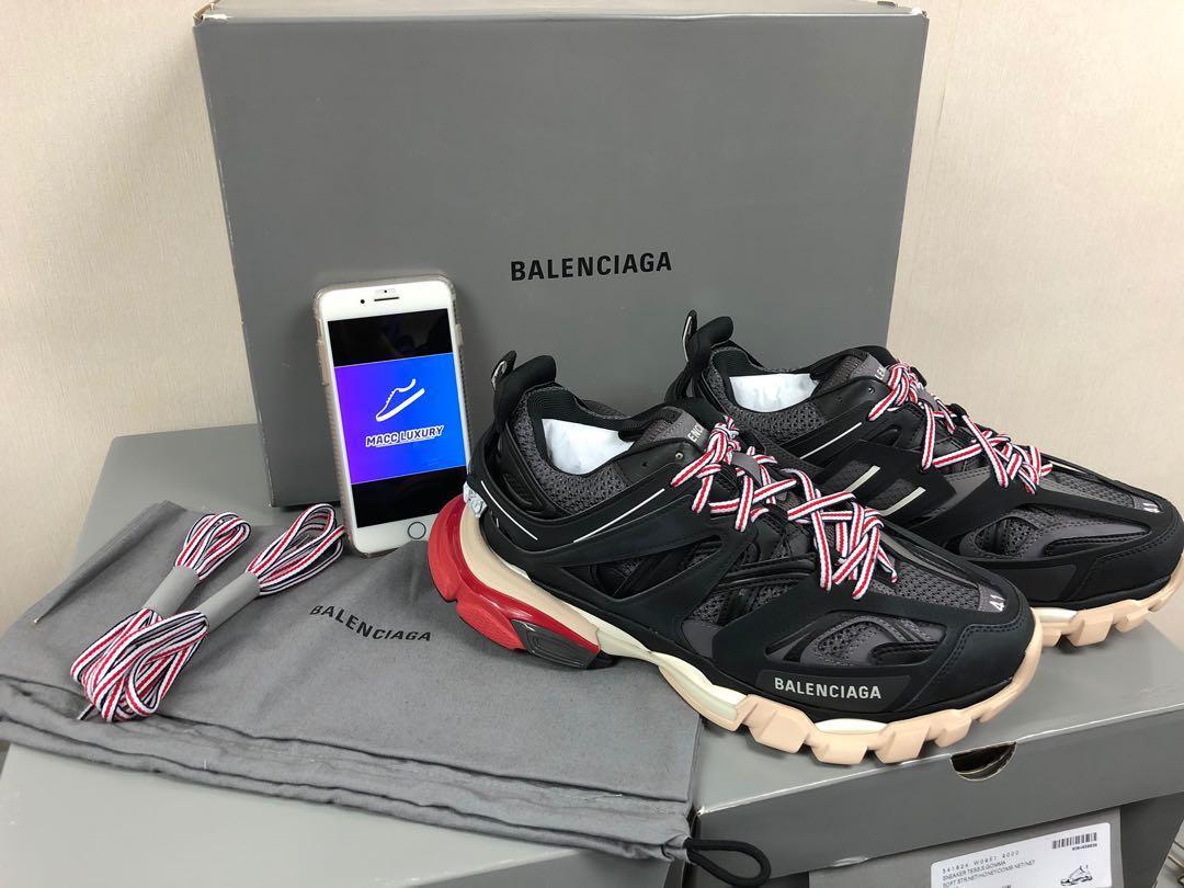 Balenciaga 2 0 Track BLACK RUN DONT WALK Depop
