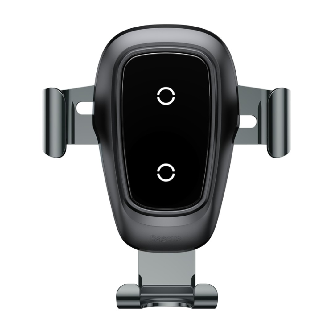 Baseus Metal Wireless Qi Charger Gravity Car Mount Air Outlet