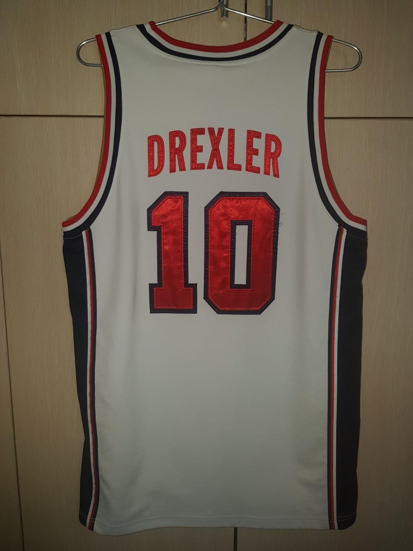best website 1ca55 94180 Basketball Jersey - Super Rare Authentic Clyde Drexler USA ...