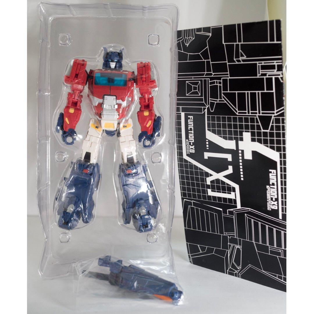 (BNIB) FansProject Function-X9 Positum (Convention Exclusive) (X-9) (Optimus Prime)