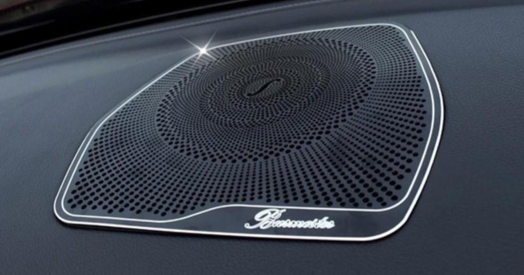 READY STOCK : 1 UNIT) Car styling Audio Speaker For Mercedes