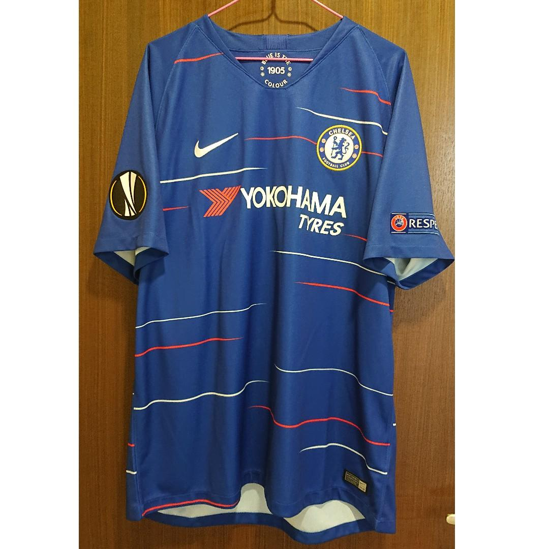detailed look 29de1 17a37 Chelsea 2018-19 home kit by NIKE, Sports, Sports Apparel on ...