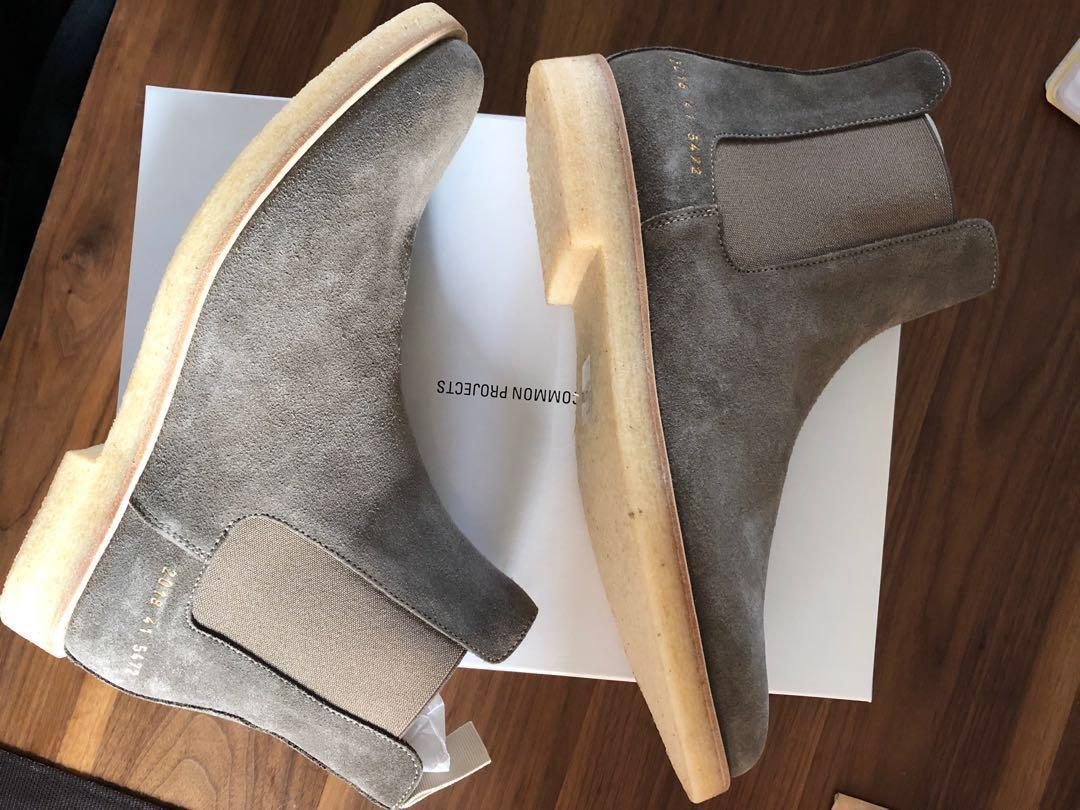 Common Projects - Suede Chelsea Boot