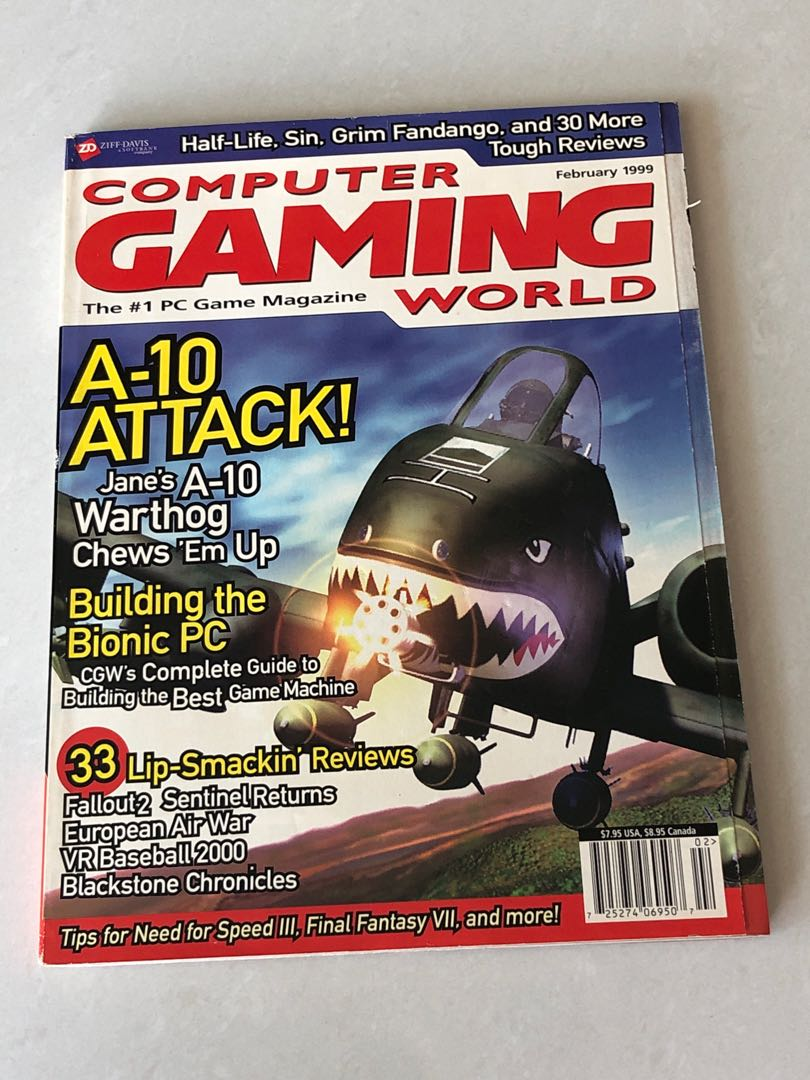 COMPUTER GAMING WORLD