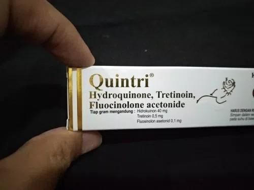 Cream Malam Quintri Untuk Mengobati Bekas Jerawat Dan Flek ...