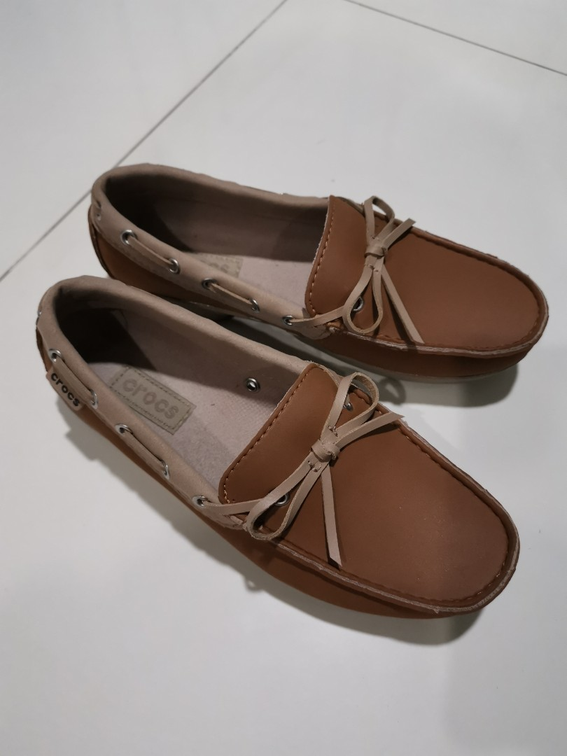 e9551a97e081 Crocs covered shoes (Loafers style) Size W5 36.