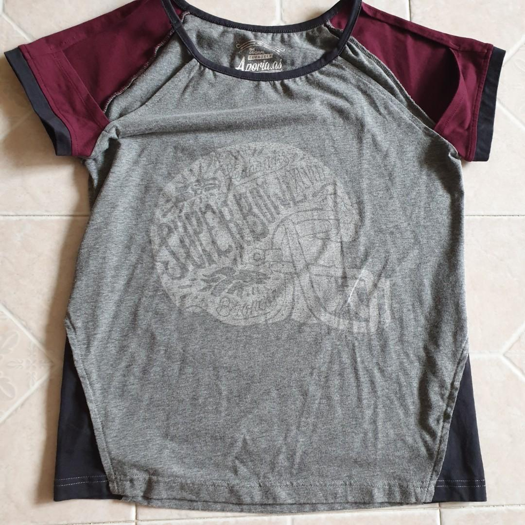 cut out sleeves tee