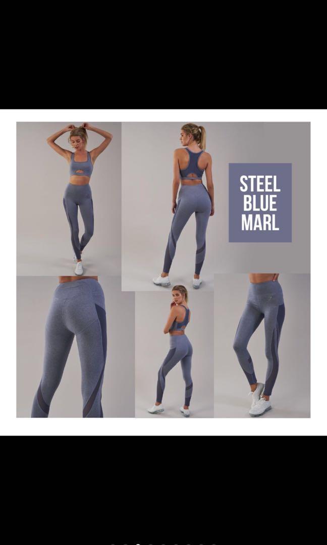 f675d696d8f9d Gym Shark leggings [PO], Sports, Sports Apparel on Carousell