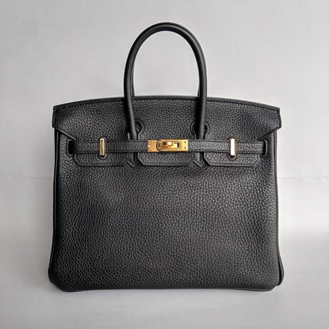 6c6fa4e2cd Hermes Birkin 25 in Black, Women's Fashion, Bags & Wallets, Handbags ...