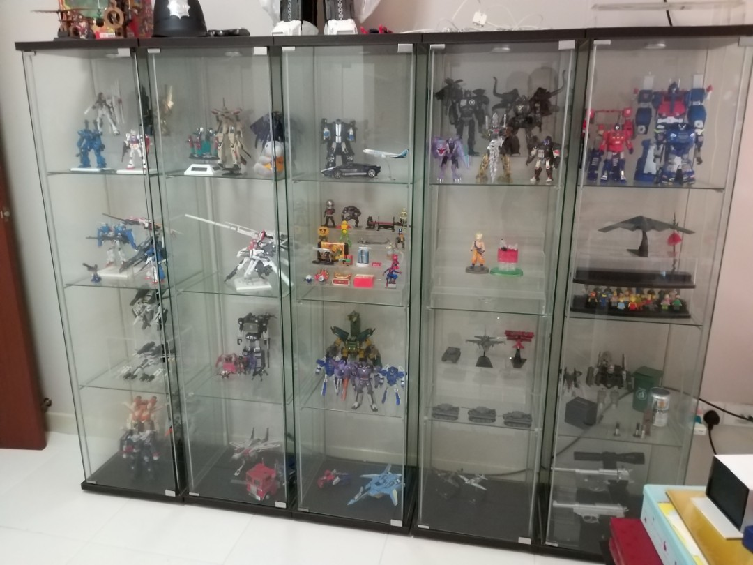 Ikea Detolf Display Cabinet All 5 Pls Read Description