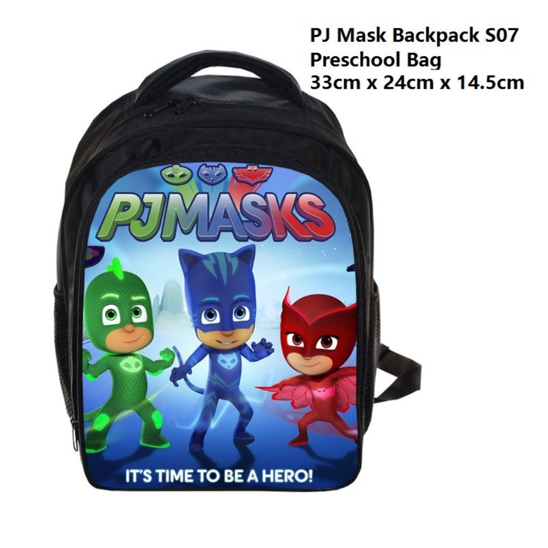 23c42471f95c In Stock  PJ Mask Preschool Backpack  PJ Mask Preschool Bag