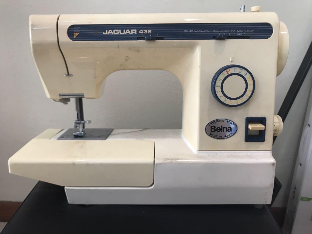 74d293f8ca6 Jaguar Portable sewing machine