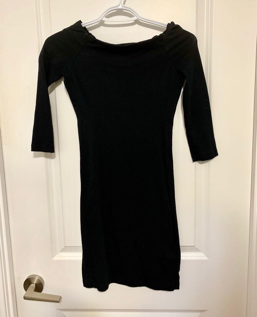 James Perse Black Dress - Size 0