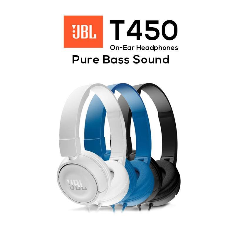32df17a2e35 JBL T450 Headphones (BN), Electronics, Audio on Carousell