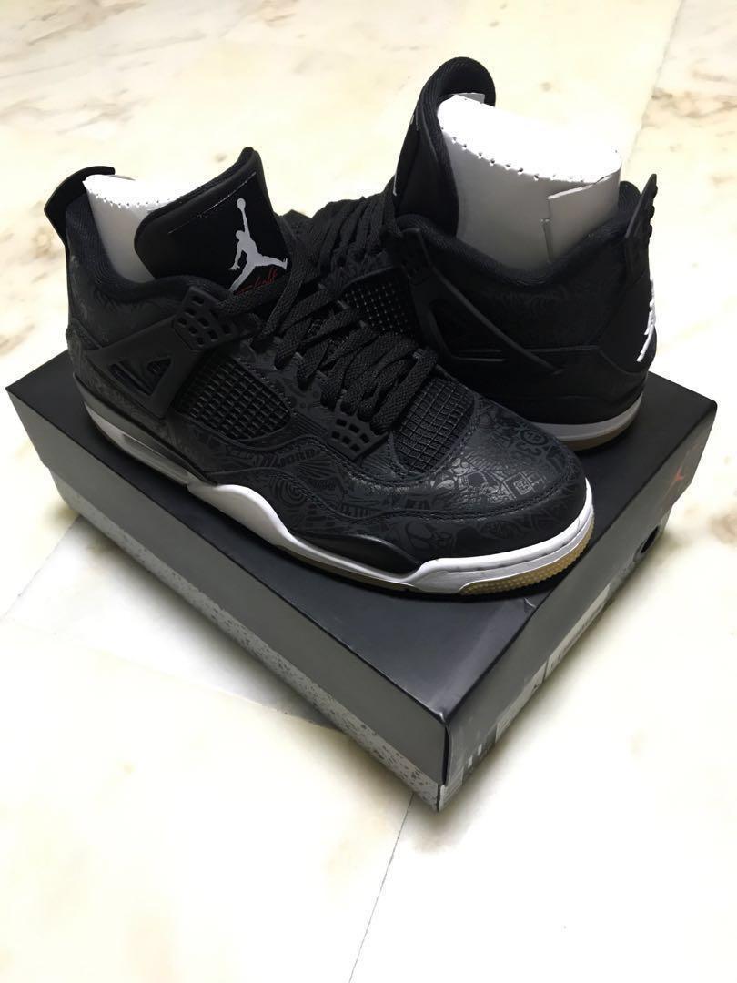 86c2d9a4b27 Jordan 4 SE Laser, Men's Fashion, Footwear, Sneakers on Carousell