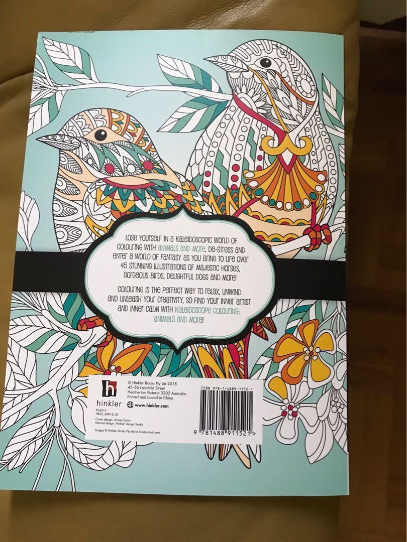 Kaleidoscope Colouring Book
