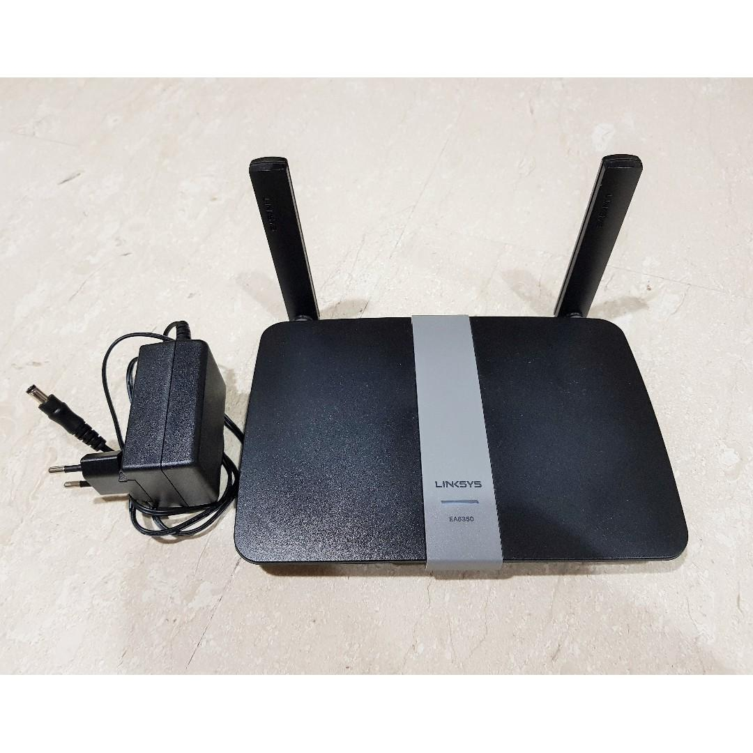 Linksys EA6350 AC1200+ Dual-Band Smart WiFi Wireless Router