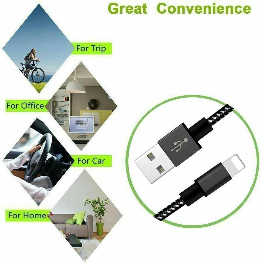 MFI CERTIFIED kabel data charger lighting iphone 180cm