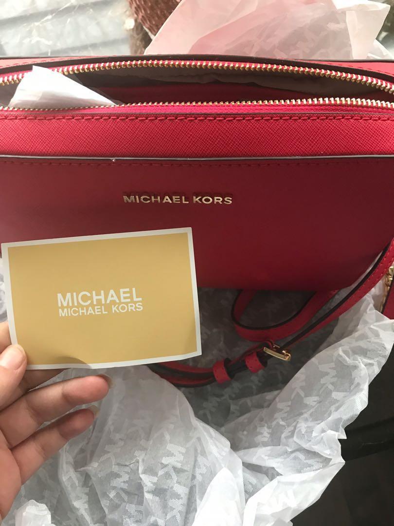 Michael Kors  Jet Set crossbody brand new with tags & bag
