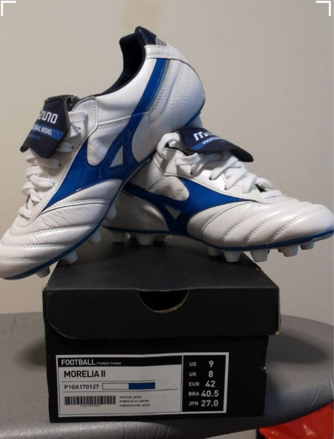 226d3f9fc18 Mizuno Morelia 2 Made in Japan soccer boots US 9