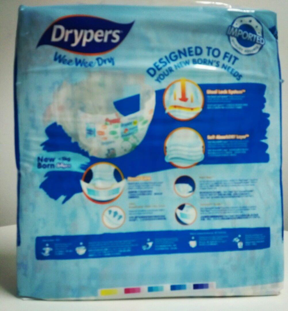 New Born Diapers