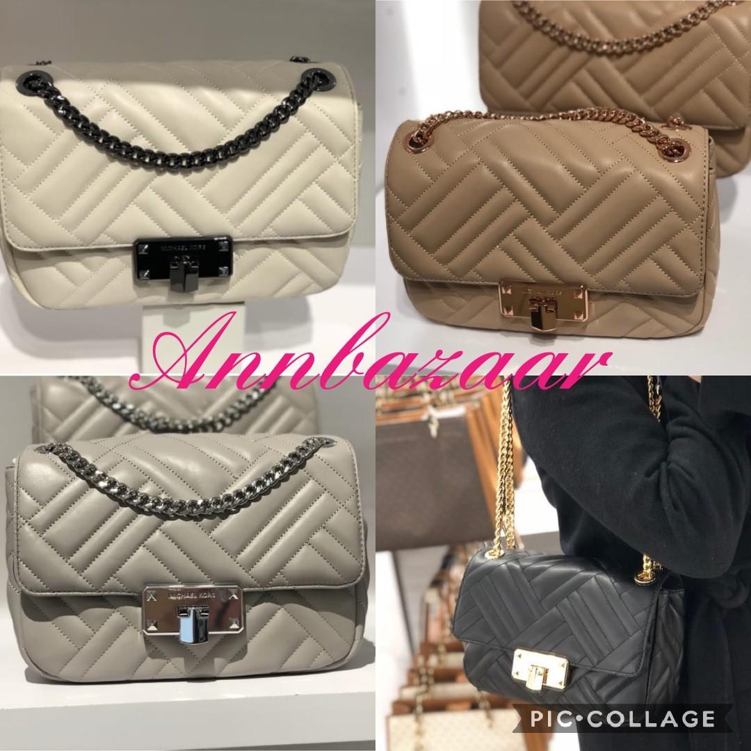 ba4979108ea71f NEW DESIGNS! Michael Kors Peyton Medium Shoulder Flap Leather Bag ...