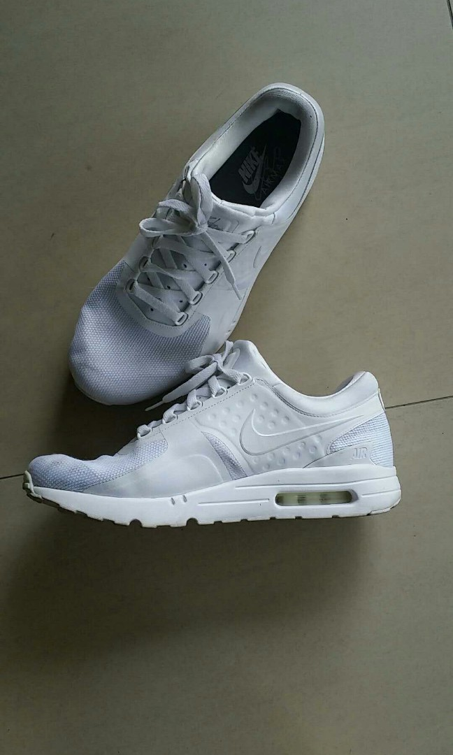low priced 9ac70 542f7 Nike Air Max Zero Triple white