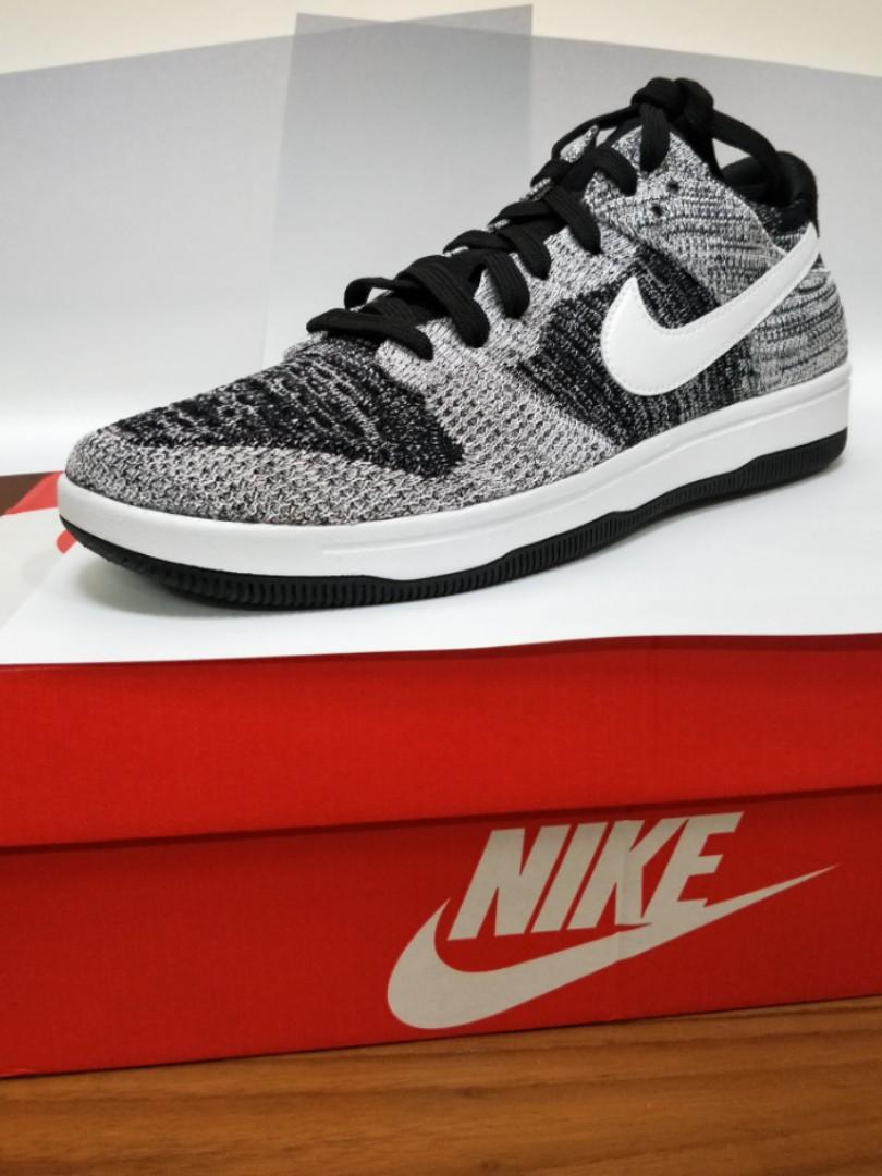 Nike Dunk Flyknit Oreo, Men's Fashion