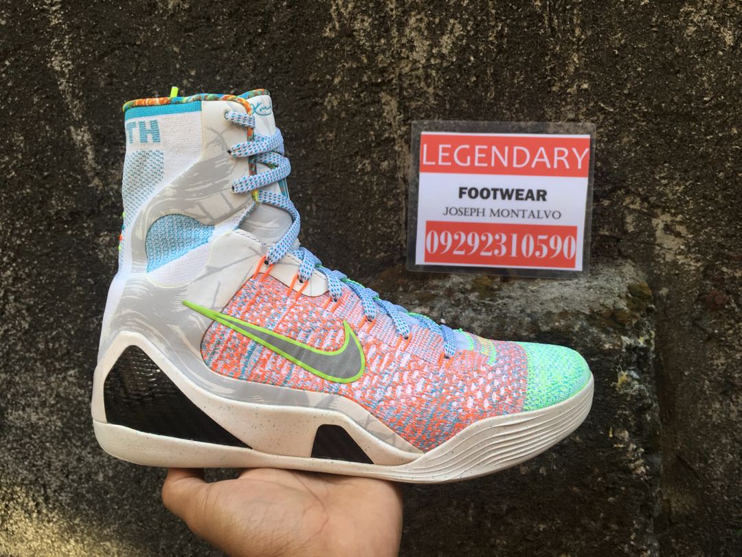 new products a5e76 c9f27 Nike Kobe 9 What The size 9.5 BNDS not Jordan Lebron Kyrie K