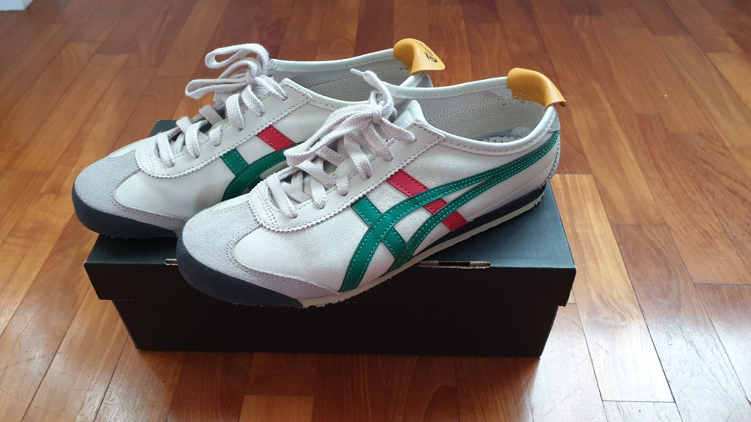 new product 6f535 90722 Authentic Onitsuka Tiger Mexico 66 (Birch/Green) Unisex ...