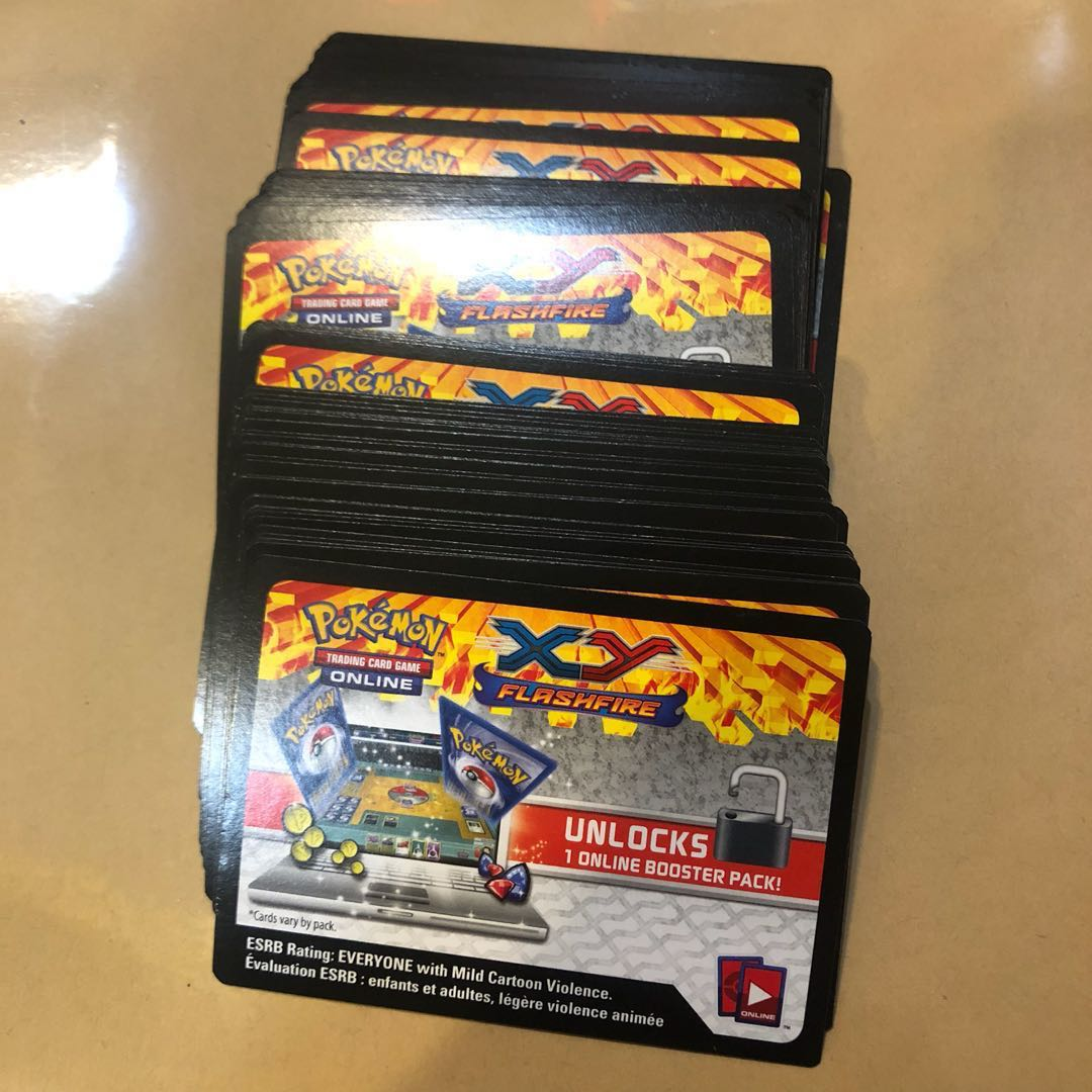 Pokemon cards TCGO online code cards (80+ codes)