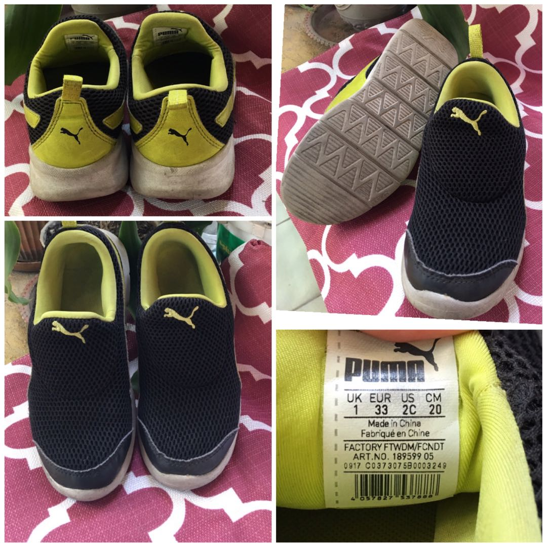 a39edb659a Pre- loved Puma slip on shoes