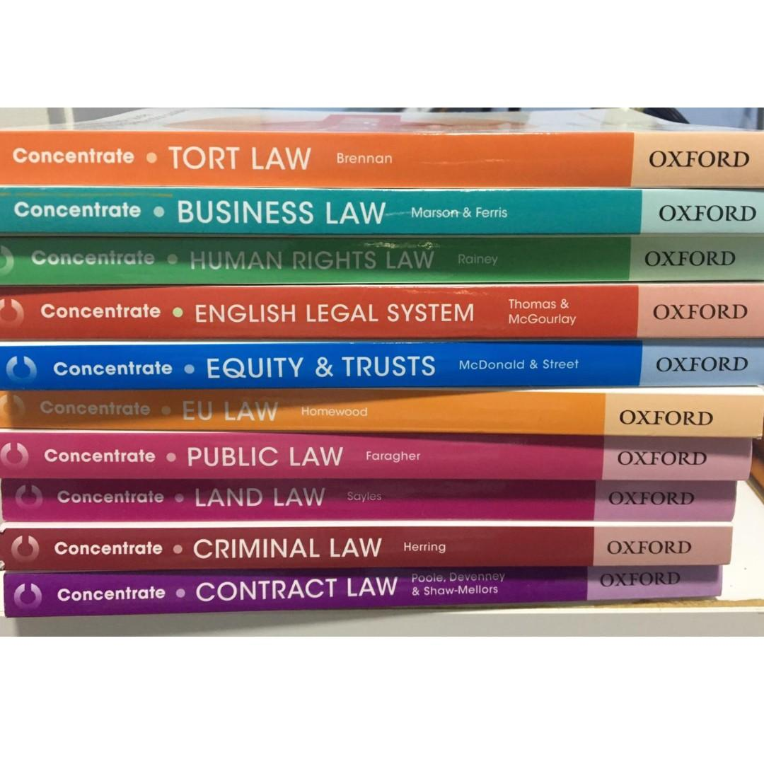 QLTS MCT Books (QLTS School and OUP Concentrate) + Notes +