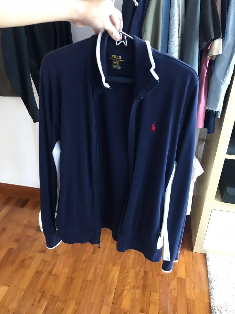 Tracksuit Ralph Jacket BlueMen's Polo Lauren Navy Fashion Sports 53A4jLR