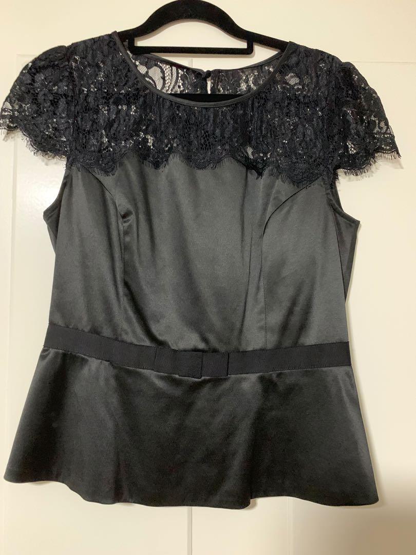 Review Black Lace Top