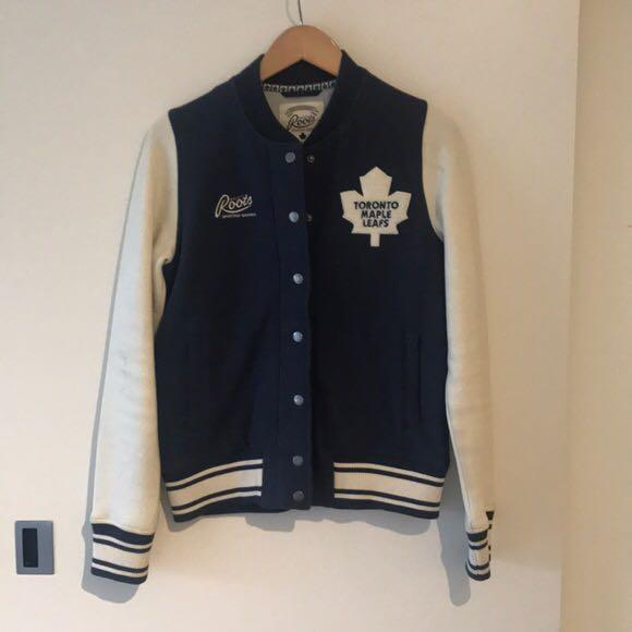 Roots Toronto Maple Leafs Varsity Sweater (NHL Official)