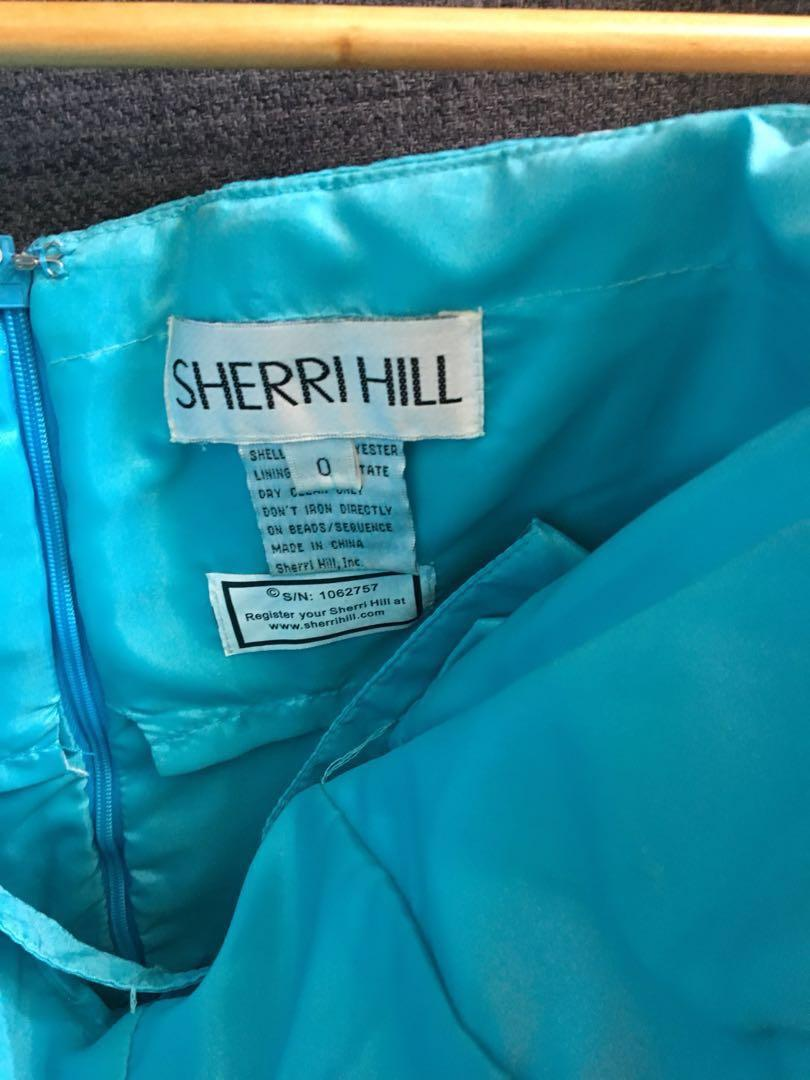 S4 Sherri Hill Cocktail Gown