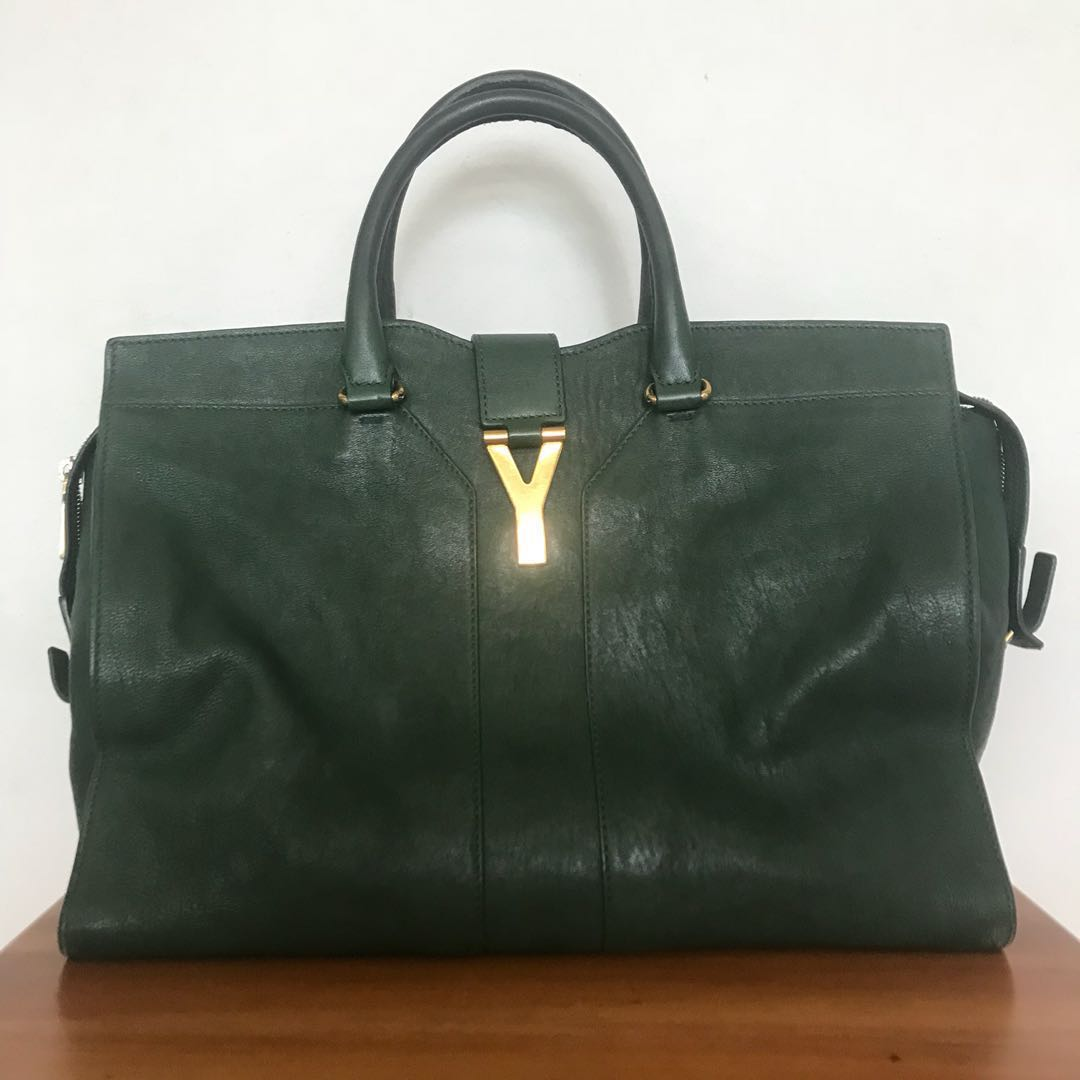 a7b42ca9e181 Saint Laurent YSL Cabas Chyc Medium