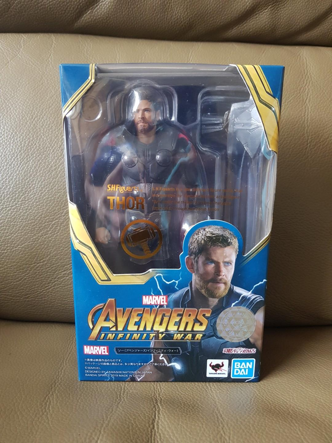 S H Figuarts Marvel Avengers Infinity War Thor SHF, Toys
