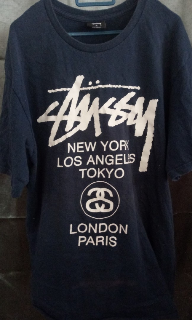 115b4b929 Stussy tshirt, Men's Fashion, Clothes, Tops on Carousell