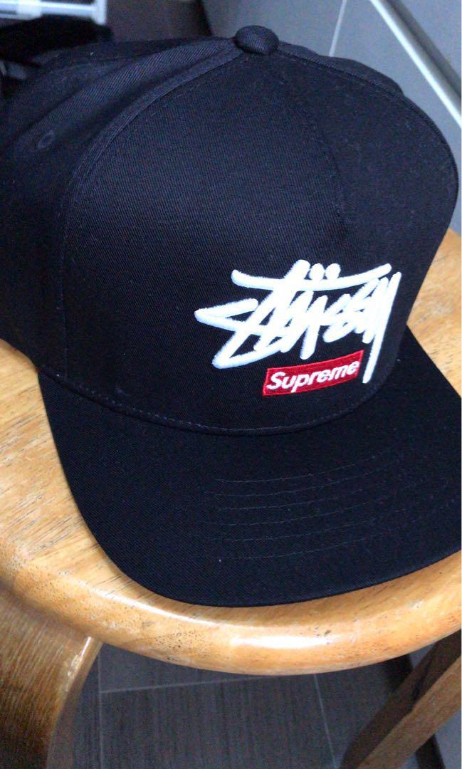 15f05868232 Stussy x Supreme Snapback 男裝Size 棒球帽