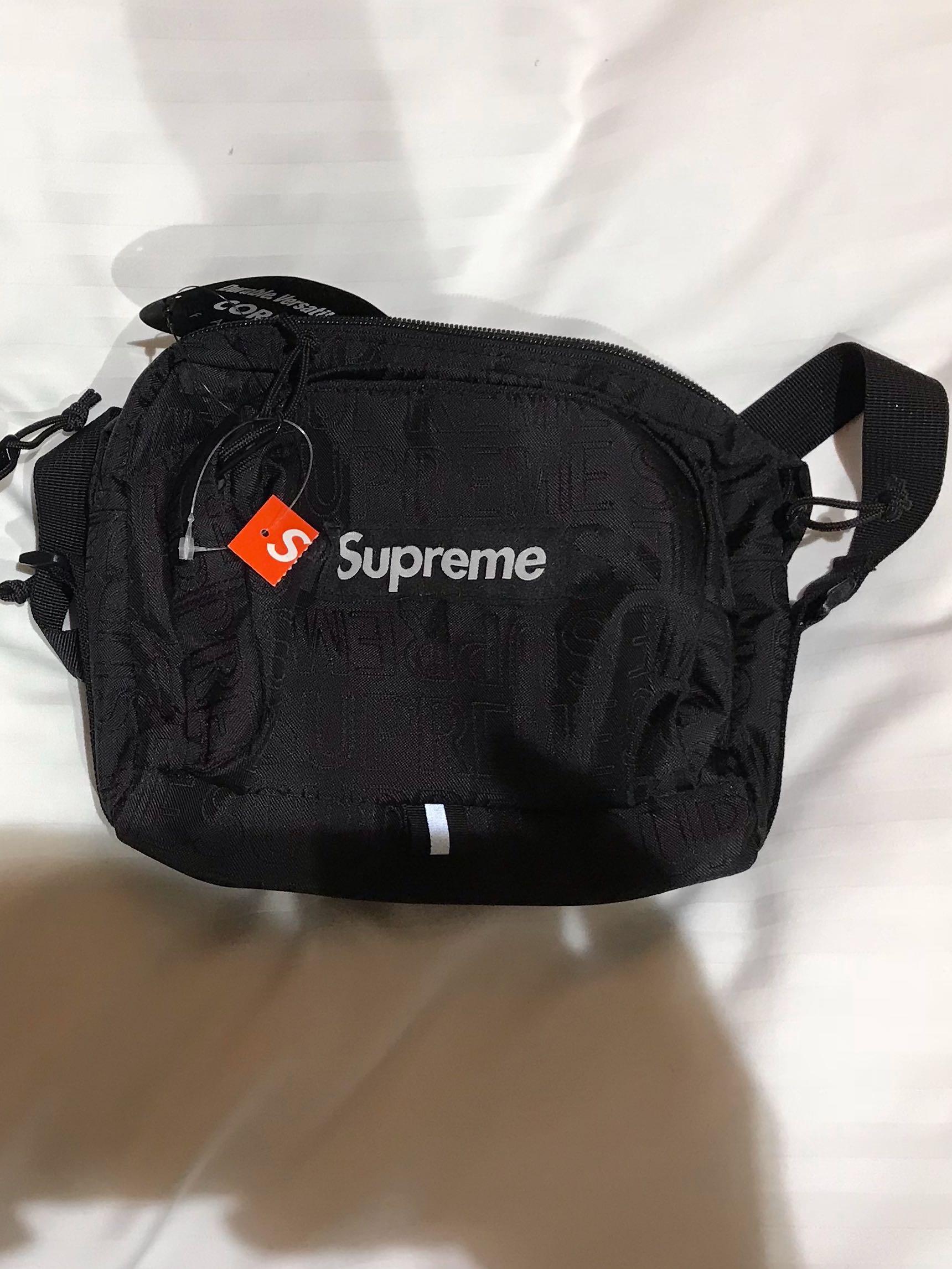 Supreme SS19 Shoulder Bag, Men's Fashion, Bags & Wallets, Sling