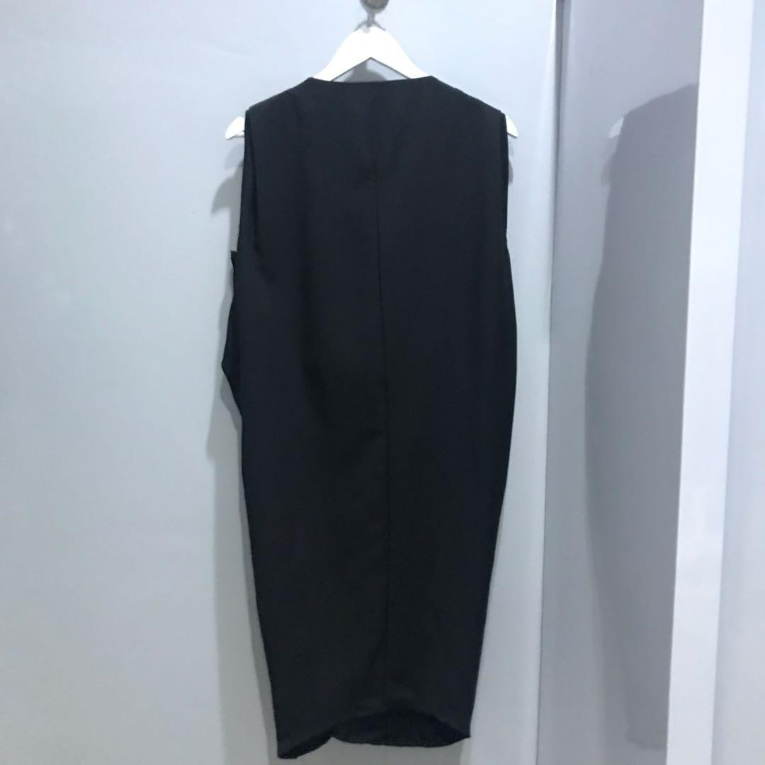 This Is April black dress