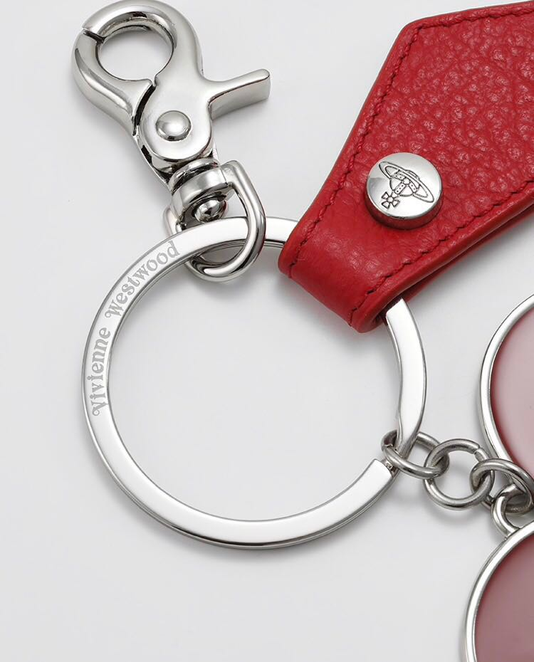 79423b9e40 Vivienne Westwood Red Mirror Heart Shaped keyring, Luxury, Accessories,  Others on Carousell