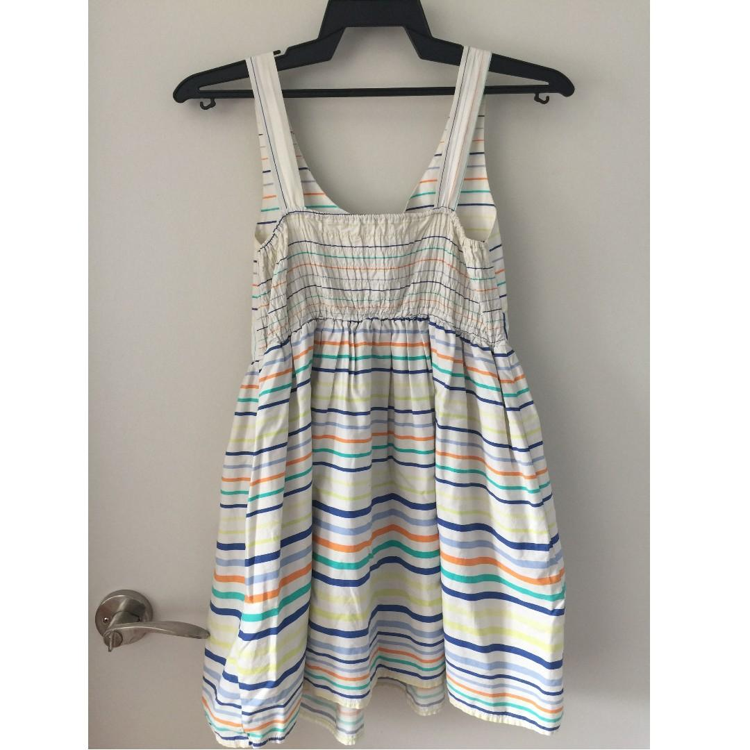 Women's Striped Casual Dress
