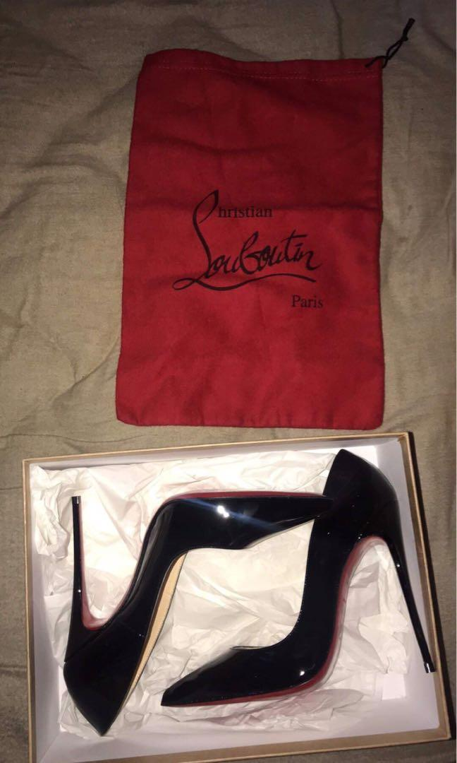 Worn once genuine louboutins size 38